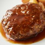 【限定品】和牛ハンバーグ定食 200g