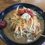 ガキ大将 - ネギ味噌ラーメン 3辛、特盛 ¥1010