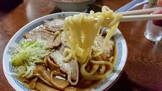 森田屋総本店 - 麺アップ