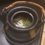 名栗温泉 大松閣 - あいなめと山菜の土瓶蒸し