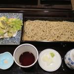 86526601 - 有機栽培野菜天ぷらせいろそば1,480円