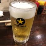 立川やきとん - 生ビール