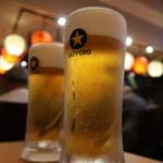 一軒め酒場 - 生ビール