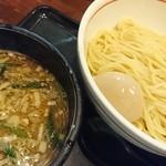 麺乃家 - しょうゆつけ麺+味タマ♪
