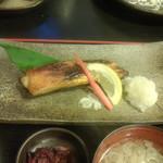 お食事処 燦 - 金目鯛の味噌漬け、750円