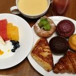 大阪マリオット都ホテル クラブラウンジ - 料理写真:
