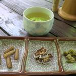 森のラーメン高須 - 前菜的なもの