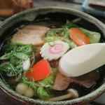 森のラーメン高須 - 野菜ラーメン