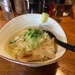 麺屋 軌跡 - 鯛塩ラーメン720円