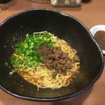 階杉 - 定番!汁なし担々麺 35辛〜(*^▽^*)❤️