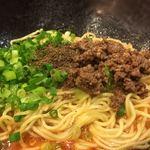 階杉 - 汁なし担々麺 35辛のアップ〜(*^▽^*)❤️