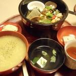 塔の茶屋 - 茶粥弁当2000円