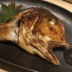 すし岩瀬 - 料理写真:甘鯛の兜の付け焼き