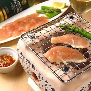 鶏ささみ料理が20種類以上あり他にも30種類以上のアラカルト