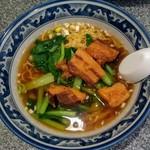 西安餃子房 - 豚角煮ラーメン