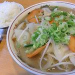 ラーメンハウス 喜楽園 - 料理写真:チャンポン