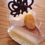 モンシュシュ - ■ホワイトチョコと紅茶のムース