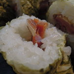 寿司・割烹 すし半 - へしこ寿司アップ