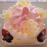モンシュシュ - バースデーケーキのご注文承ります★苺づくしバースデー