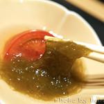 日本料理 徳 - もずく酢