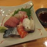 叶寿司 - 刺身盛合せ 1300円