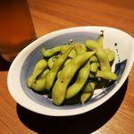 個室と和食 和菜美 - 朝採り枝豆