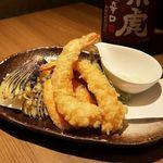 個室と和食 和菜美 - 天ぷら盛り合わせ