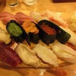 叶寿司 - おまかせ寿司 2400円