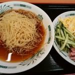 日高屋 - 黒酢しょうゆ冷し麺