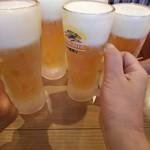 86543412 - 生ビールで乾杯