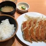 86543487 - 餃子定食(10ヶ)