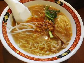でっかい餃子 曽さんの店 代々木店 - 台湾ラーメン。