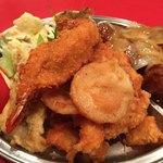 中国料理 ちゅん - エビフライ 唐揚げ 魚天ぷら 山芋フライ