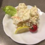 大衆割烹 ひかり - ポテトサラダ