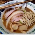 86545646 - 中華そば「こく煮干し」 730円、 中太麺