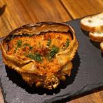スペイン料理Pablo - バスク風蟹味噌
