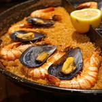 スペイン料理Pablo - 2色の魚介パエリア