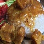 珈琲西武 - カレーは豚肉ゴロゴロ