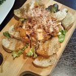 鉄板酒場やすみ屋 - おつまみバケット(ウニ&クリームチーズ)
