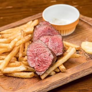 こだわりの熟成肉ドライエイジングビーフ