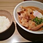 本町製麺所 本店 - お米で〆れるのも嬉しい