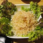焼肉処・炉炭 - 大根サラダ(350円)