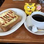 ルナ - 料理写真:タマゴトーストモーニング350円(税込)