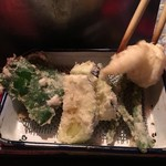 玄海 - おまかせコース(900)の野菜