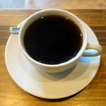 ワイズマンコーヒー - ドリンク写真:モーニングセット、ドリップコーヒー&バタートースト610円