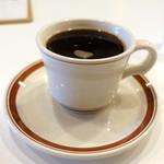 メガネ コーヒー - ドリンク写真:エチオピアコンガ550円