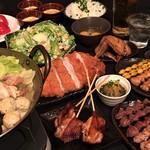 大和 笑う焼き鳥屋 ウルル - 超濃厚な水炊きと、焼き鳥等の鶏料理を存分に楽しめるこのコース【彩-Aya-】