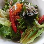 スシオオアシガマ - ランチのサラダ