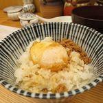 天ぷらすずき - 玉子天+そぼろ+ご飯