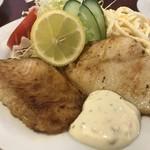 キッチンニュー南海 - 白身魚のバター焼き(980円税込)